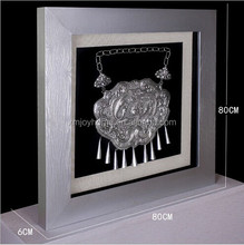 Wholesale wall decoration Jewellery artwork theme 3D wall art shadow box home decoration items