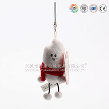 adult cheap small plush keychain toy
