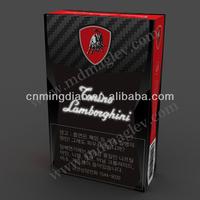 China supplier optic fibers cigarette display case, customized fiber optic cigarette case display