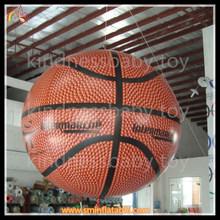 advertising helium basket ball balloon , inflatable basket ball on sale