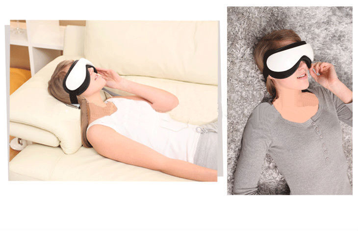 new design vibrating eye massage device with mp3 function