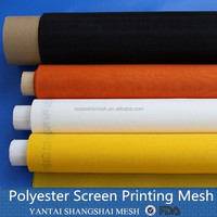 43T 110 mesh faster tension stabilization glass pottery printing mesh
