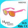 Wholesale Hot selling cheap Famous Brand promotional yellow sunglasses sunglasses