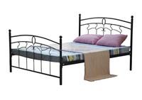 Hot Sale Modern Bedroom Furniture Metal Double Bed