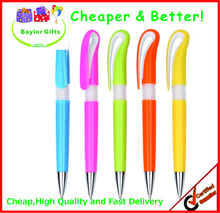 Hot sales Factory price cute plastic logo pen plastic ballpoint pen pen plastic