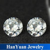 Wholesale signity cz gems white 1mm 3mm cubic zirconia stones