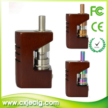 Yiloong original design wooden box mod yiloong fogger tank crossing wood fogger box