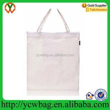 Eco environmental canvas reusable shopping bag folding portable tote bag