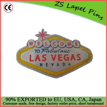Free artwork design quality personalized Welcome to Las Vegas Belt Buckle