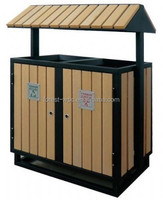 waterproof garbage can wpc composite wood decking pergola fence tile wood substitute