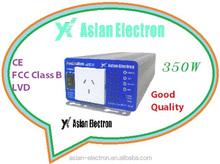 High Frequency CE / FCC CLASS B / LVD ROHS solar power 350W inverter