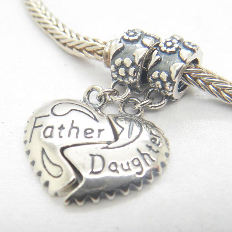pandora charm dad daughter