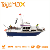 Unique design High Simulation 6 Channels RC Sailing Toy Boat, Toy Ship with Certificates