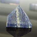2015 naturale speciale lapis semi- pietra preziosa piramide carving, decorazione intaglio