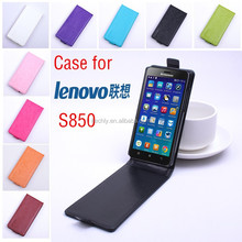 cell phone case for lenovo s850, mobile phone leather case, for lenovo case