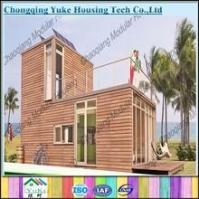 Prefab Log House Wooden Villa