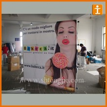 Widely Used Vinyl Material Pop up Stand exhibition Advertising