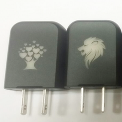 USB Power Adapter Travel Wall Charger for iPhone Mobile Phone Smart Phone Moto x with customizable logo