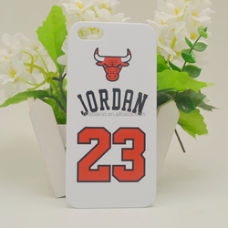 2015 new design JORDAN fashion mobile phone case hard cover
