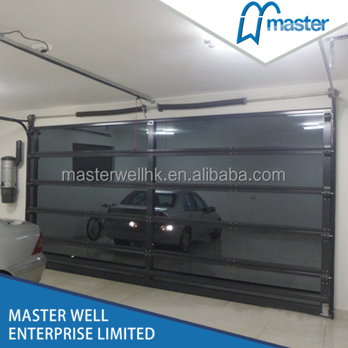 Mirror Glass Garage Door Buy Aluminum Frame Door