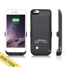 SINOTEK charger case 6000mah backup external battery case for iphone 6