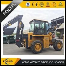 China popular backhoe loader WZ30-25 XCMG brand