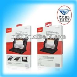 2015 Brand New Aluminum folding bluetooth flexible wireless keyboard