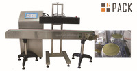 Automatic induction sealing machine for cap