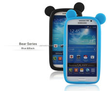 Blue&Black Color Cell Phone Case Cover Colors for universal silicone bumper mobile phone