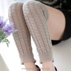 fashion new fastening girl knitted gaiters