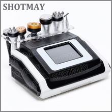 shotmay STM-8036 warm vacuum detox lymph drainage 40KHz cavitation rf slimming made in China