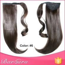 ponytail hairpieces, 100% real human hair ponytail, wrap around human hair ponytail