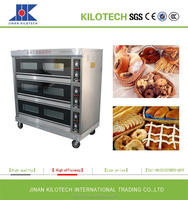Commercial Gas Oven, Electric Oven for bake bread, biscuit