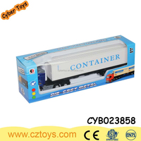 Wholesales 1:48 scales container car toys with small cars die cast truck model