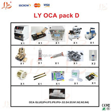 Latest combination LY universal screen separate pack D OCA pack D OCA solution D for apple & Samsung mobile screen repair