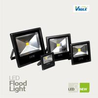 ultrathin LED flood lights 10W 20W 30W 50W Black AC85-265V waterproof IP65 Floodlight Spotlight Outdoor Lighting