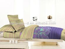trade assurance 100%cotton plain printed fabric for duvet cover set/bedsheet cover set