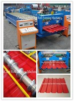 Africa Market HC37 High Quality Low Price Roof Tile Machine, Automatic Corrugated Metal Roof Tile Making Machine