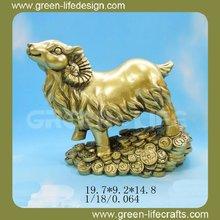New product golden goat unique collectibles