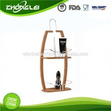 Export Quality FDA/LFGB/REACH Wholesale Price Bathroom Pole Shelf