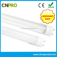american quality level 3000lm 24w t8 led tube 150cm pf>0.98 cri>80 3 years warranty