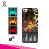 Skeleton Scary Ghost Hard 3D Skull Gothic Illusion Case Cover - With 3D Flash Call Indicator LED Light (Bones Skull)