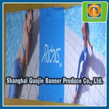 UV printed banner for product promotion
