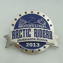 factory price wholesale custom metal pizza hut pin badge