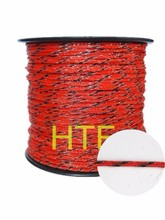 goog quality electric fence braided rope for horse fence