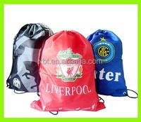 Football Team drawstring bag Train sports draw string bag