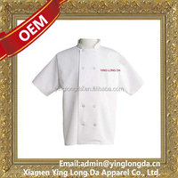High quality new arrival hotel white chef uniform sets