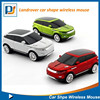 classical sports racing 2.4G wireless car mouse driver for SUV land rover car shaped