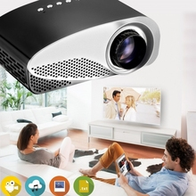 Wholesale Excellent Students and Kids Gift Mini Projector 120 Lumens 480x320 Resolution 12 Languages