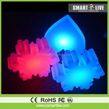 Good Quality Bell ,star,dragonfly,deer,tree Colorful night light, indoor candle light christmas decoration supplier